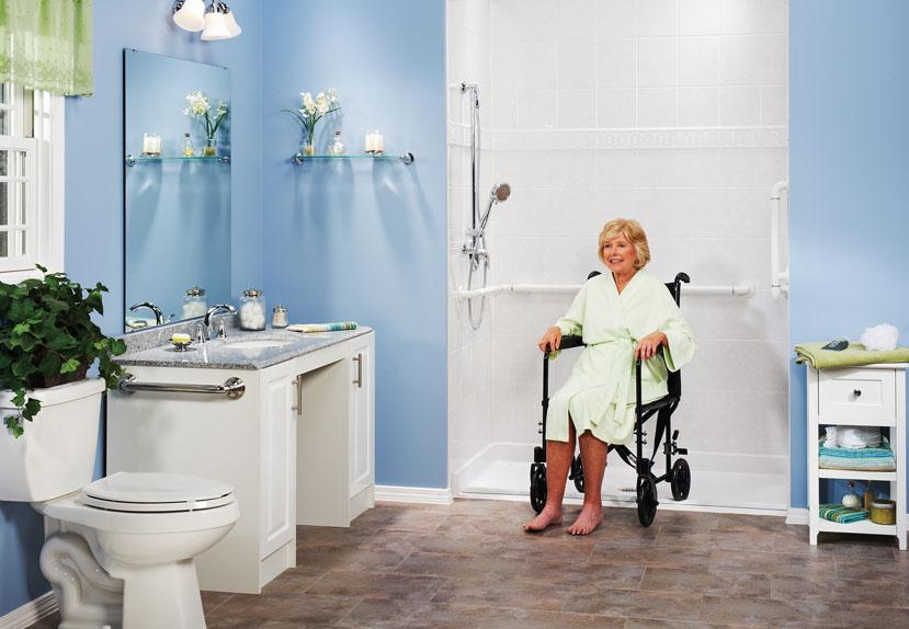 Ada Approved Bathroom ada bathroom & home modifications - quality design renovations llc