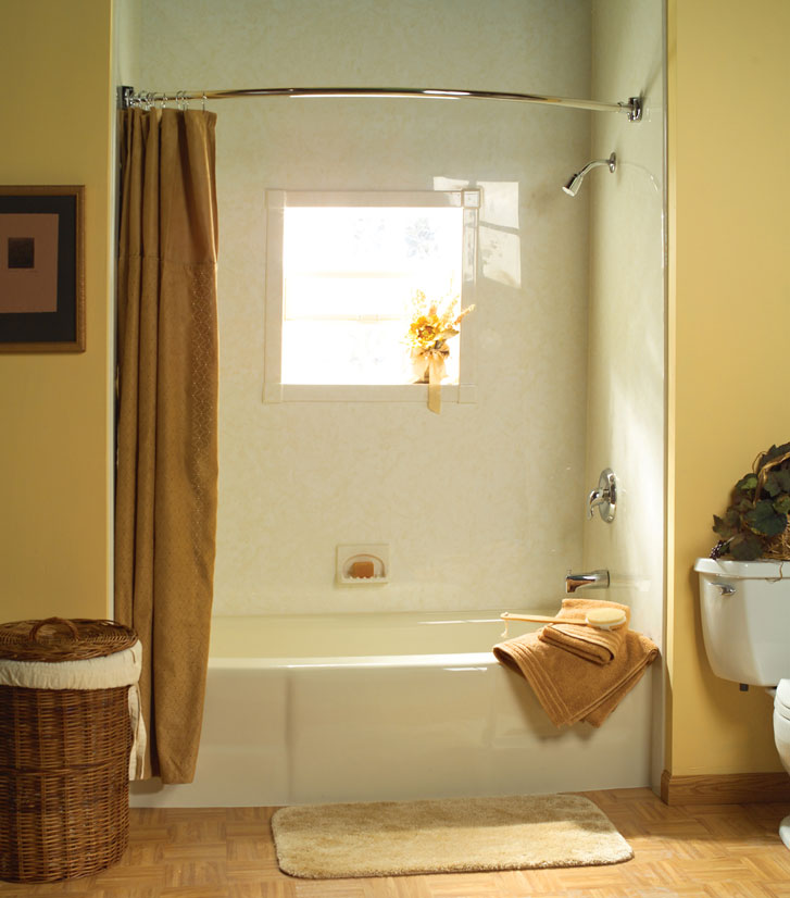 Acrylic bathroom solutions quality design renovations for Bathroom tub liners