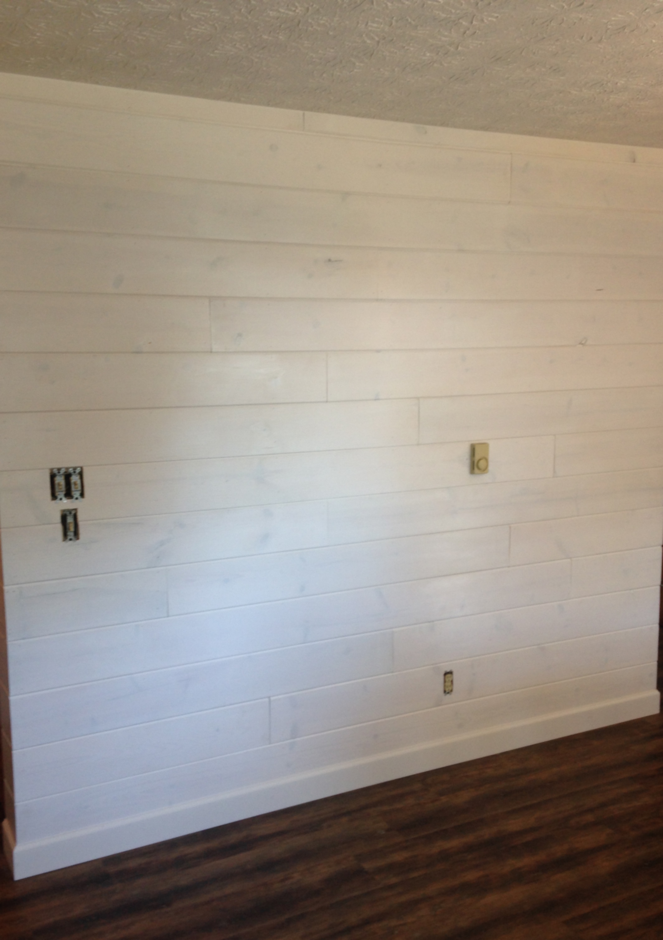 White Washed Shiplap Walls Wayne OH Quality Design Renovations