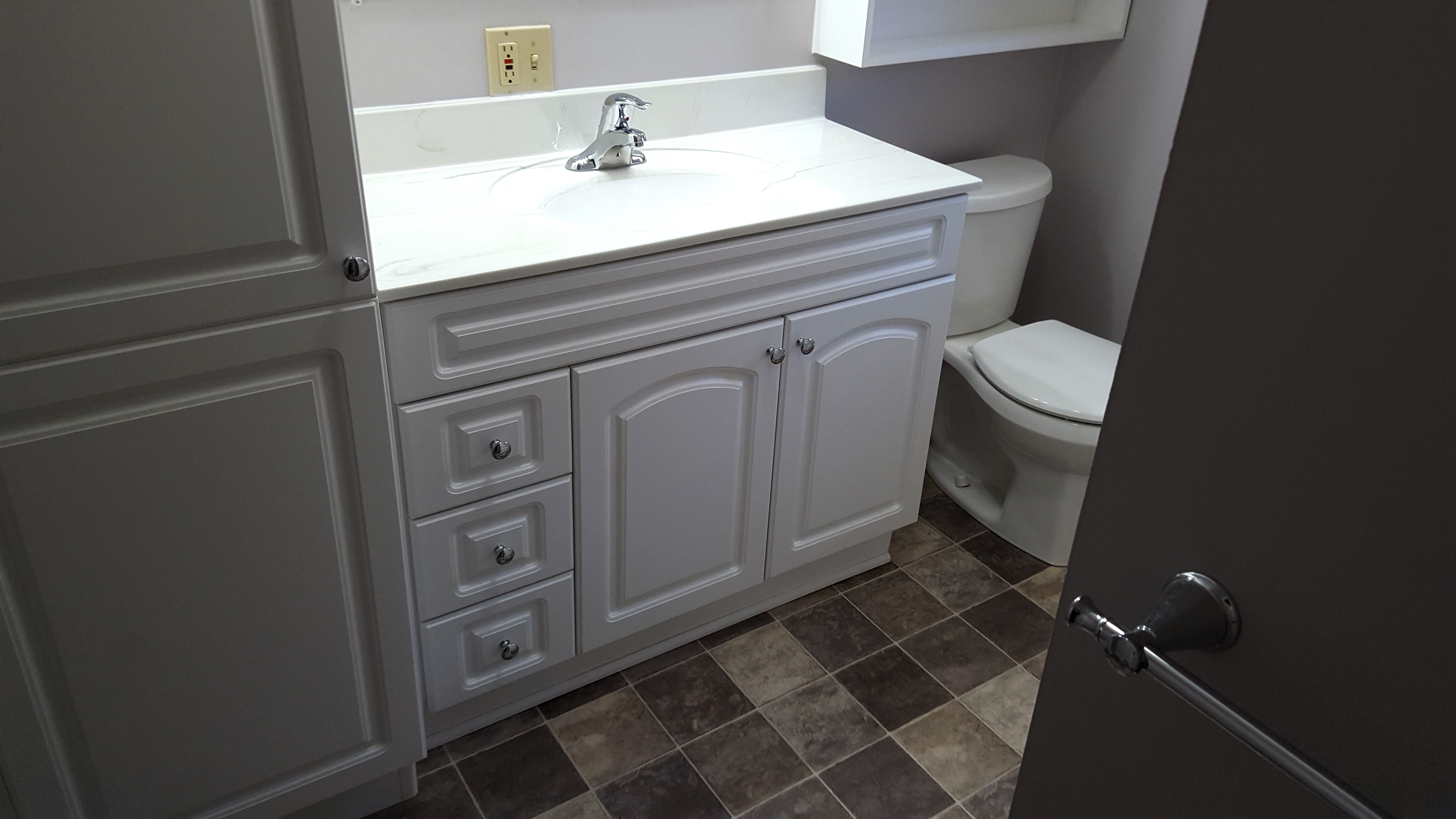 Full Bathroom Remodel Akron OH Quality Design Renovations LLC - Bathroom remodel cleveland