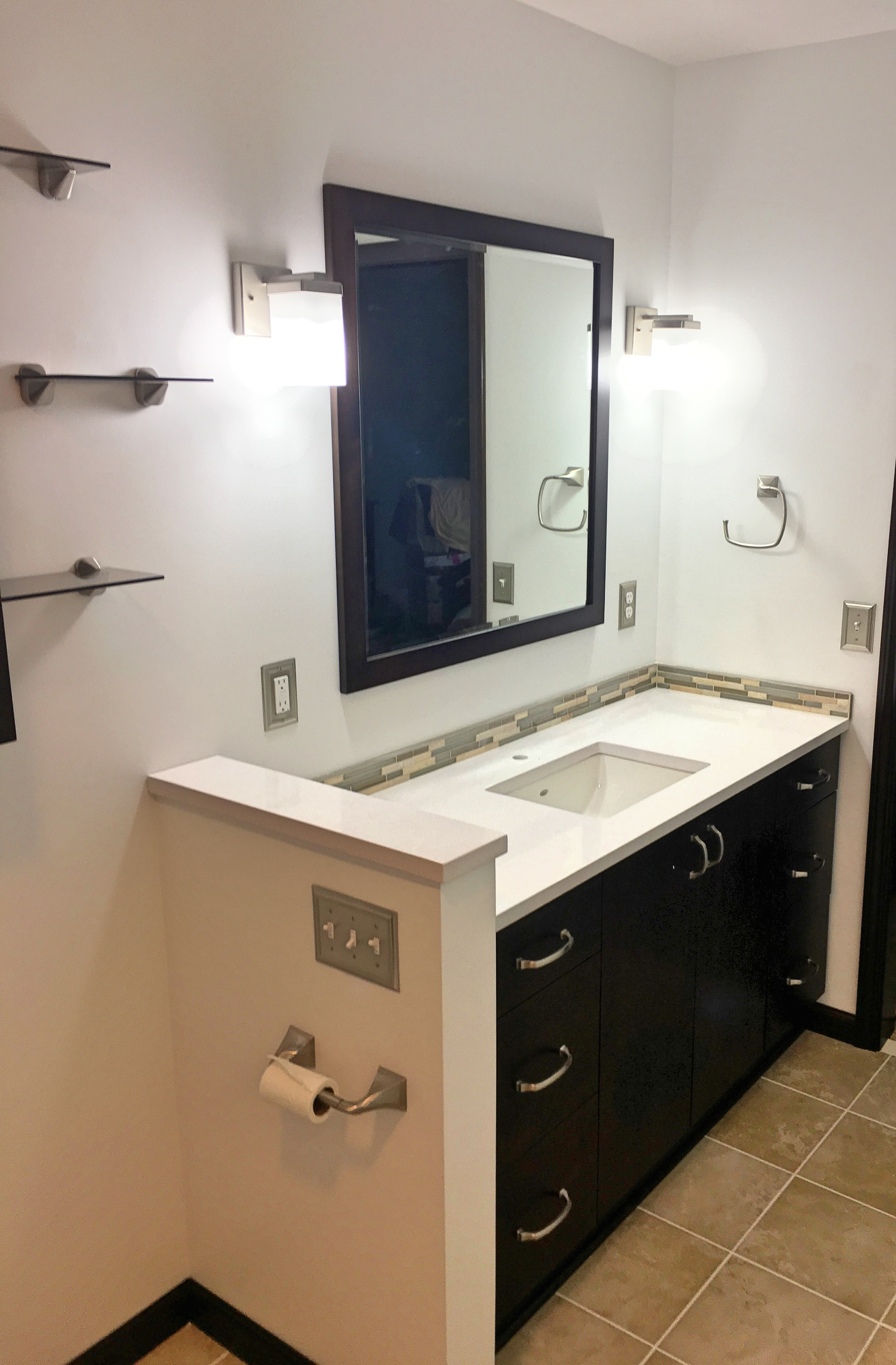 Full Bathroom Remodel Stow OH Quality Design Renovations LLC - How much is a full bathroom remodel